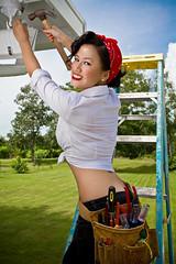 Tiffany Nguyen (raphael aaron) Tags: world lake classic vintage war florida mary retro ii 50s pinup homersbeautyofwoman