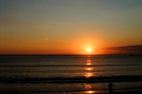 Sunset on Jimbaran Beach
