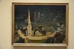 The Midnight Ride Of Paul Revere (Ryan Hadley) Tags: newyorkcity usa newyork art museum painting artgallery manhattan met metropolitanmuseumofart grantwood themidnightrideofpaulrevere