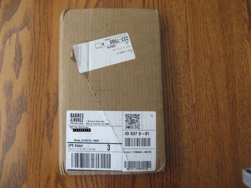 Unwrapping from B&N.com # 1