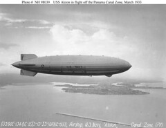 USS Akron in Flight (lazzo51) Tags: aviation science usnavy blimps airships zeppelins luftschiff dirigibles ussakron zrs4