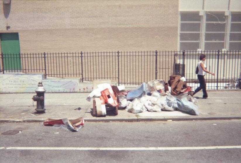 Trash on Dean St.