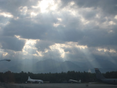 (MooseNuggette) Tags: sunshine alaska clouds anchorage viewfromwork iloveclouds 081809