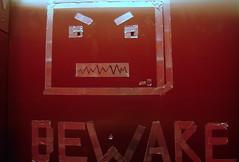 Beware Elevator Robot
