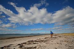 Tayinloan, Kintyre (Hugh Spicer / UIsdean Spicer) Tags: camping sea beach march scotland spring sand jura 2008 kintyre papsofjura gigha tayinloan windsandandwater