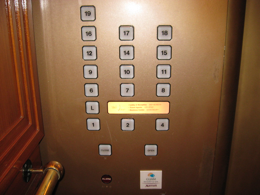 The world 39 s best photos of elevator and superstition for 13th elevator floor