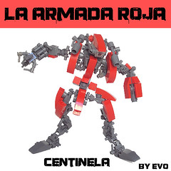 Centinela (AlterEvo) Tags: red lego hard armada suit moto motorcycle mecha evo roja moc amry
