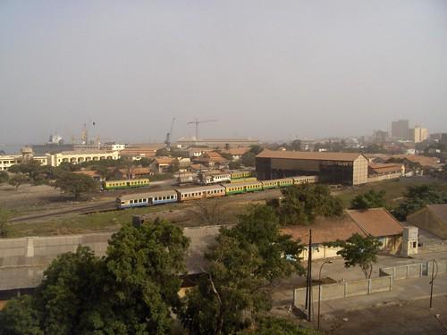 Estação ferroviária de Dakar, Senegal
