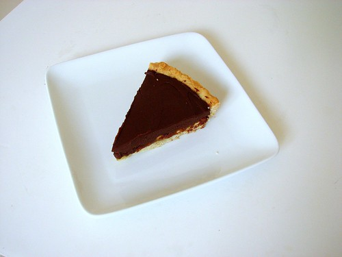 TWD Chocolate Caramel Tart