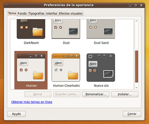 Teman Human en Ubuntu 9.10 Karmic Koala
