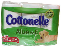 Kleenex Cottonelle Toilet Paper Enriched With Aloe & Vitamin E