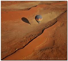 Dune Hopping (Panorama Paul) Tags: hotairballoon namibia soe namibdesert nohdr namibnaukluftnationalpark shieldofexcellence nikfilters vertorama nikond300 wwwpaulbruinscoza paulbruinsphotography