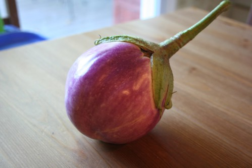 Rossa Bianca Eggplant