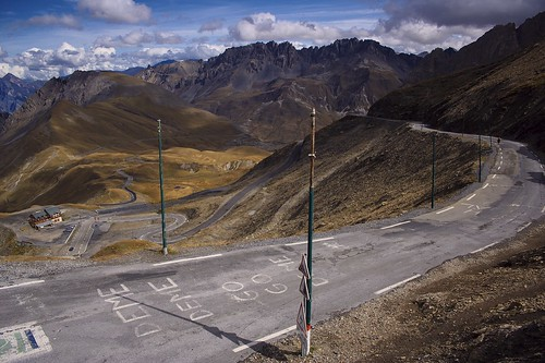 According to the gradient-squared system, the Galibier (pictured) is a tougher climb than the Tourmalet. The Galibier will be climbed twice during the 2011 Tour de France. Photo: Soumei Baba