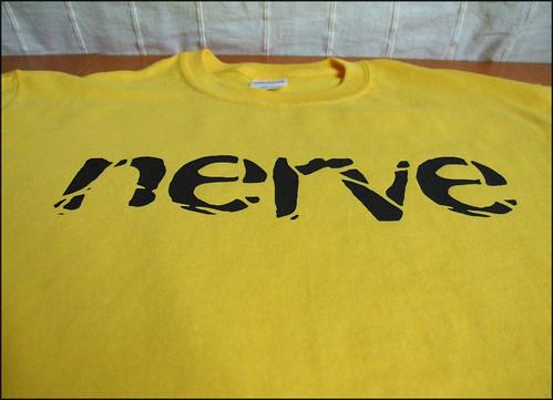 Nerve tshirt printed