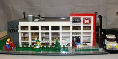 LEGO HSBC South (notenoughbricks) Tags: lego bank longisland hsbc merrick hsbcbank sunrisehighway legocity legomoc merricknewyork legobank