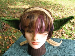 Green elf ears (Yoda)
