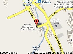 Help For Marilao Central School - Marilao map