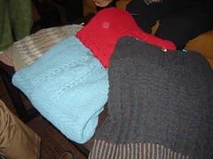 Doreen, Judy S, Jane S, Kathy P (Denver Knitter) Tags: canada nova scotia kal