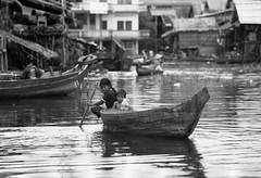on tonle sap iii (sixbyfourfive) Tags: poverty blackandwhite lake water cambodia southeastasia poor tonlesap