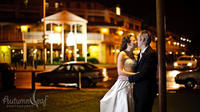 Courtney & Glen - Under the street lamp