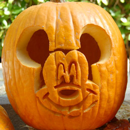 calabaza miki mouse