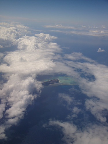 Approaching Ishigaki Is.