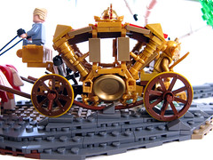 Bavarian Autumn (Sir Nadroj) Tags: bavaria gold coach carriage lego royal solid