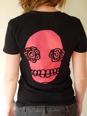 Woman's Skull Tee (back)