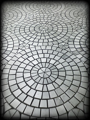 Anguk Station Floor: Seoul, South Korea (Aaron Brown Photography) Tags: brown station project circle subway pattern floor metro south aaron cellphone cell free korea 328 explore tiles rights seoul license royalty handphone rf orangeline rm managed anguk explored 3line themetroproject contactmetopurchase