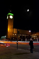 Big Ben by night - City Of London (»WOLFE«) Tags: road light london tourism thames night big long exposure ben tourist streams