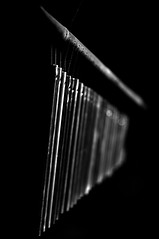 Chime (Nick Kidd) Tags: blackandwhite abstract monochrome windchimes chimes