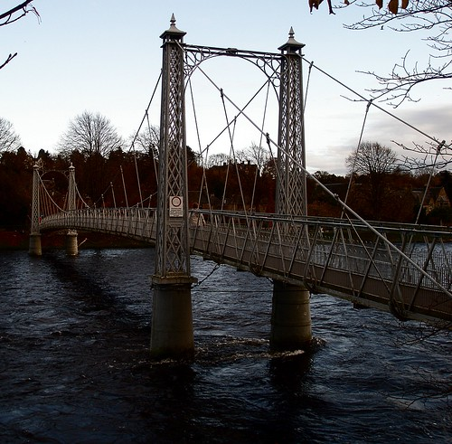 Ness Island Bridge - Inverness