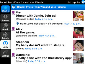 Loopt BlackBerry - Lately - Copy