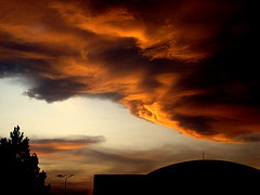 Rain will be start very soon! (<Younes>) Tags: sunset cloud iran  mashhad silhoutte   younes      kolahdouz