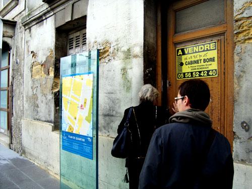 La maison à un étage du 65 rue Achard est à vendre depuis trois mois au prix de 100 000 euros.