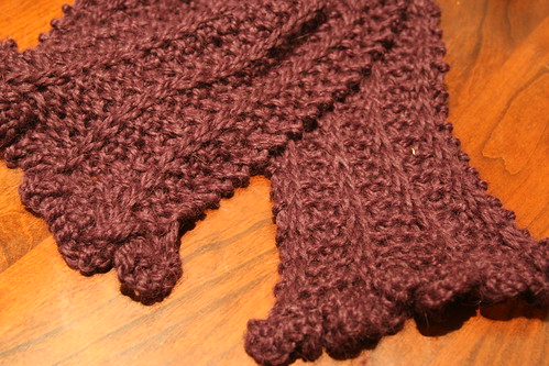 Cold Comfort Scarf