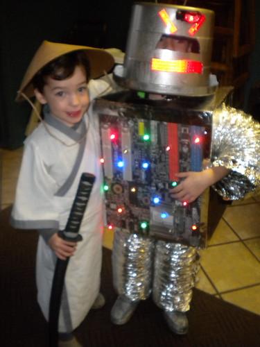 Samurai Jack & FinnBot