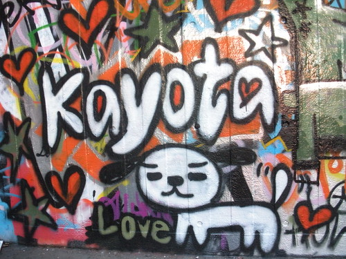 Kayota graffiti