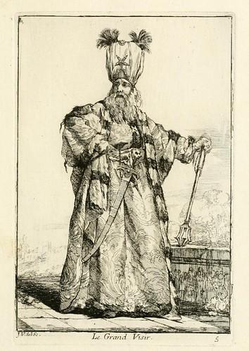 005-El Gran Visir-Caravanne du sultan ala Mecque…1748- Joseph Vien