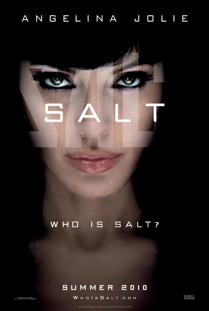 Salt Poster Angelina Jolie