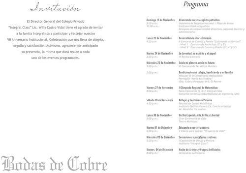 Programa Aniversario 2009