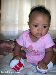 Marlie at 14 weeks