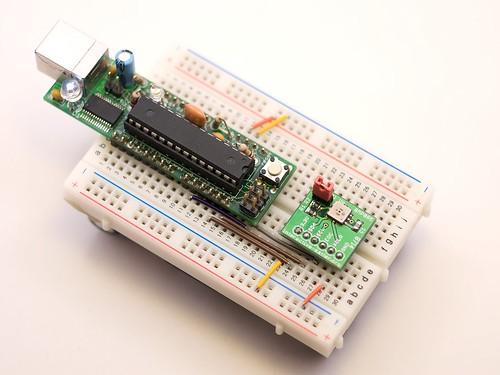 Arduino & Barometric Pressure Sensor BMP085