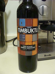 Timbuktu (knightbefore_99) Tags: red art rouge bottle wine oz australia shiraz vin timbuktu rosso vino tinto grenache