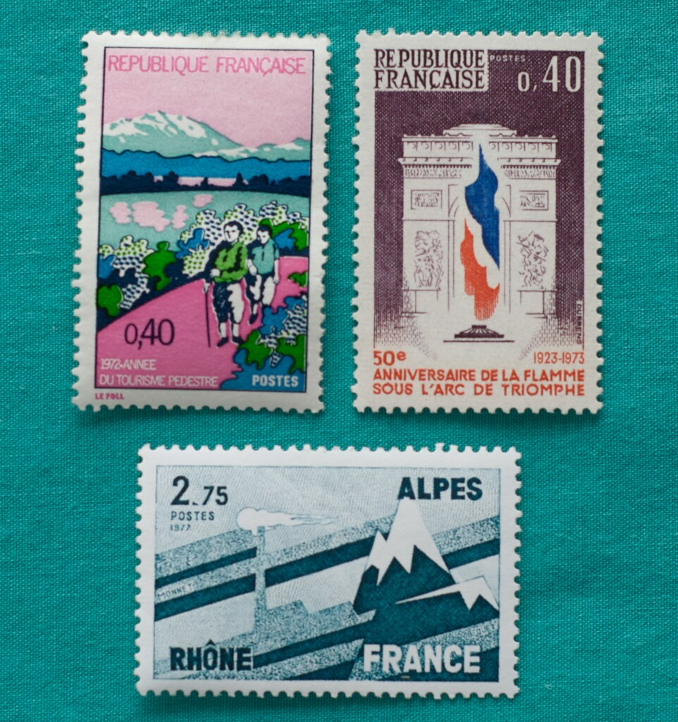 Black Eiffel Stamp Collection