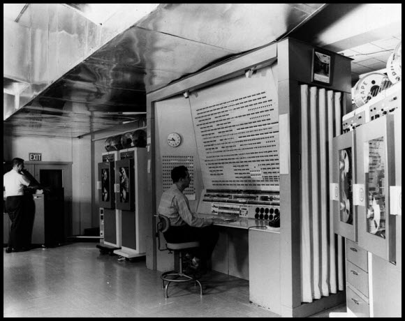 Image result for 50's military computer