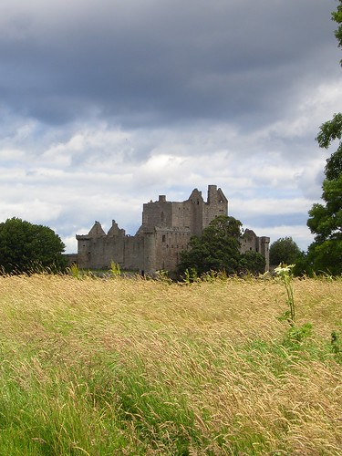 Craig Millar Castle near Edinburgh