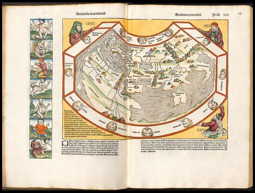 Nuremburg Chronicle world map