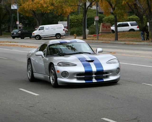 auto ca car silver la losangeles dodge viper ? coupe coches spotting gts woodlandhills ???????? motor4toys ???????